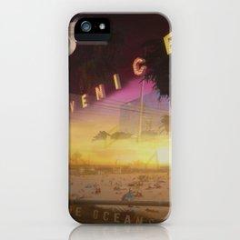 Venice California iPhone Case