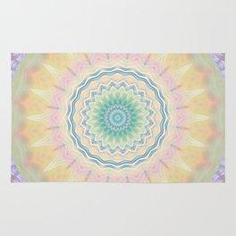 Mandala pastel no. 3  Rug