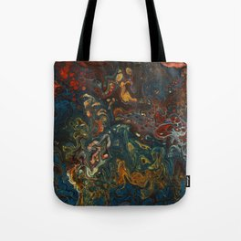 Flower Child - An Abstract Piece Tote Bag