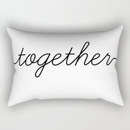 better together (2 of 2) Rectangular Pillow