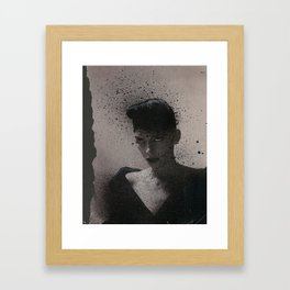"Untitled (from in-progress graphic novel ""Radi01"") Framed Art Print"