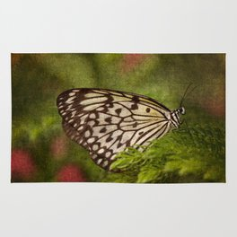 Rice Paper Butterfly Rug