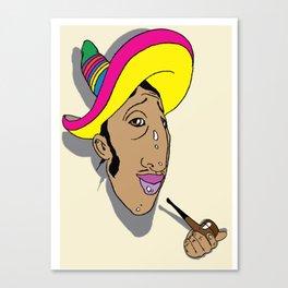 nice hat Canvas Print