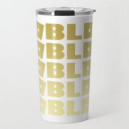Roblox Gold Stack Adopt Me Travel Mug
