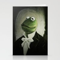 kermit Stationery Cards featuring Sir Kermit by LogicINK