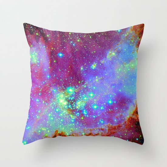 Stellar Nursery Throw Pillow