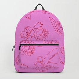 Peonies and Switchblades Backpack