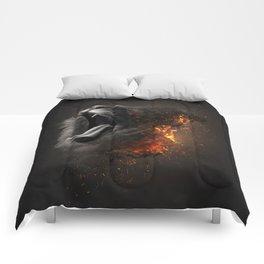 XTINCT x Lion Comforters