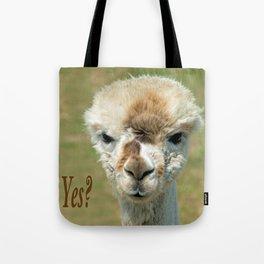 YES? Tote Bag