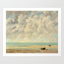 Gustave Courbet - The Calm Sea Art Print