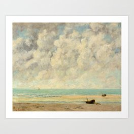 Gustave Courbet - The Calm Sea Art Print