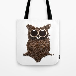 Coffee Owl Tote Bag