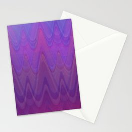 Layered Lavender in Distressed Pink, Fuchsia, Wine and Purple Blue  Stationery Cards