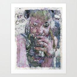 King Cobra Art Print