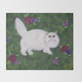 Persian Meadow Throw Blanket