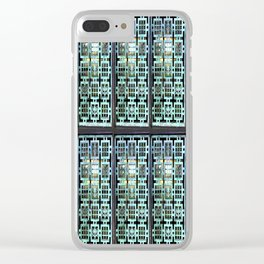 Caged In Clear iPhone Case