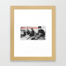 Stiff Little Fingers Framed Art Print