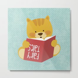 Fairy Tales, Teddy Bear Metal Print