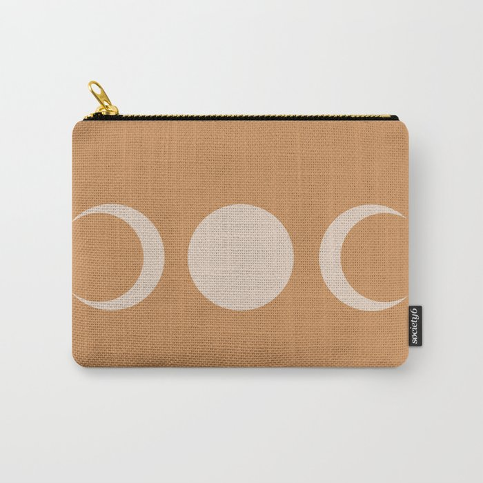 Moon Minimalism - Desert Sand Carry-All Pouch