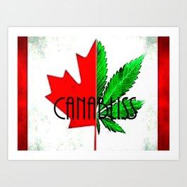 CannaBliss Art Print