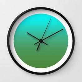 Avocado Round Wall Clock