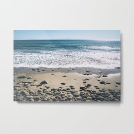 Cali Beach Metal Print