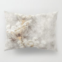 French Country Queen Anne's Lace Pillow Sham