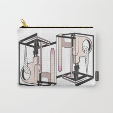 lady at the mirror Carry-All Pouch