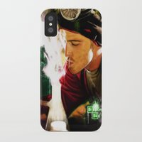 jesse pinkman iPhone & iPod Cases featuring Jesse Pinkman by p1xer
