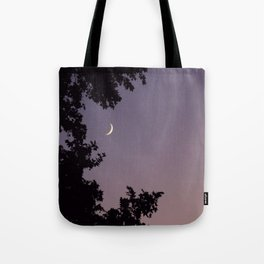 Smile Moon Tote Bag