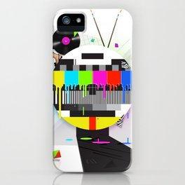Molten Colour Bars iPhone Case