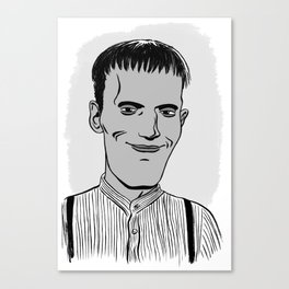 LURCH - THE ADDAMS FAMILY Canvas Print