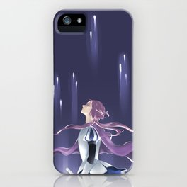 A Knight in the Moonlight iPhone Case