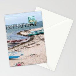 Lawis, Bantayan Island, Cebu, Philippines Stationery Cards