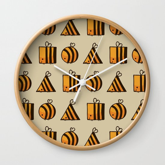 BEE DIFFERENT Wall Clock