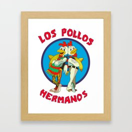Los Pollos Hermanos Framed Art Print
