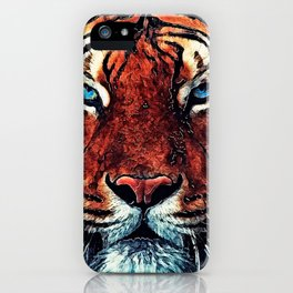 Tiger spirit iPhone Case