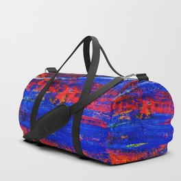 (N10) Abstract Epic Colored Moroccan Artwork. Duffle Bag