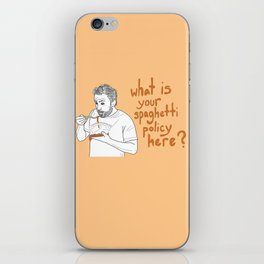Charlie Kelly - Spaghetti Policy iPhone Skin