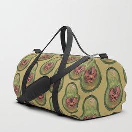 bear avocado Duffle Bag