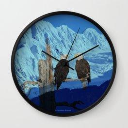Seeing Double! Wall Clock