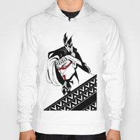 native american Hoodies featuring Native by memo_alatouly