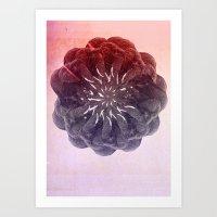 geometry Art Prints featuring geometry by PandaGunda