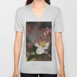 Apple Tree Blossoms 1 Unisex V-Neck