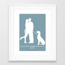 In Love Print Framed Art Print