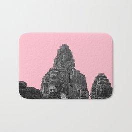 Angkor Wat with pink Bath Mat