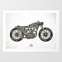 Horse Power by bmd design Art Print