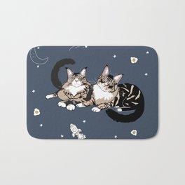 Space Cats Bath Mat