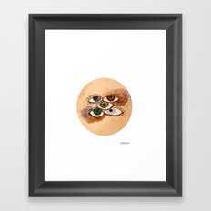 EyesScope Framed Art Print