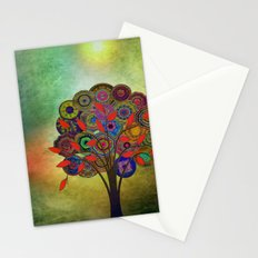 Tree of Life 3 - color variation Stationery Cards